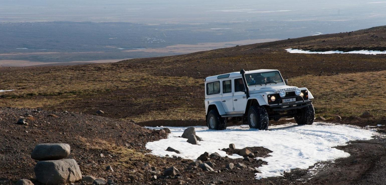 Super Jeep reis door IJsland