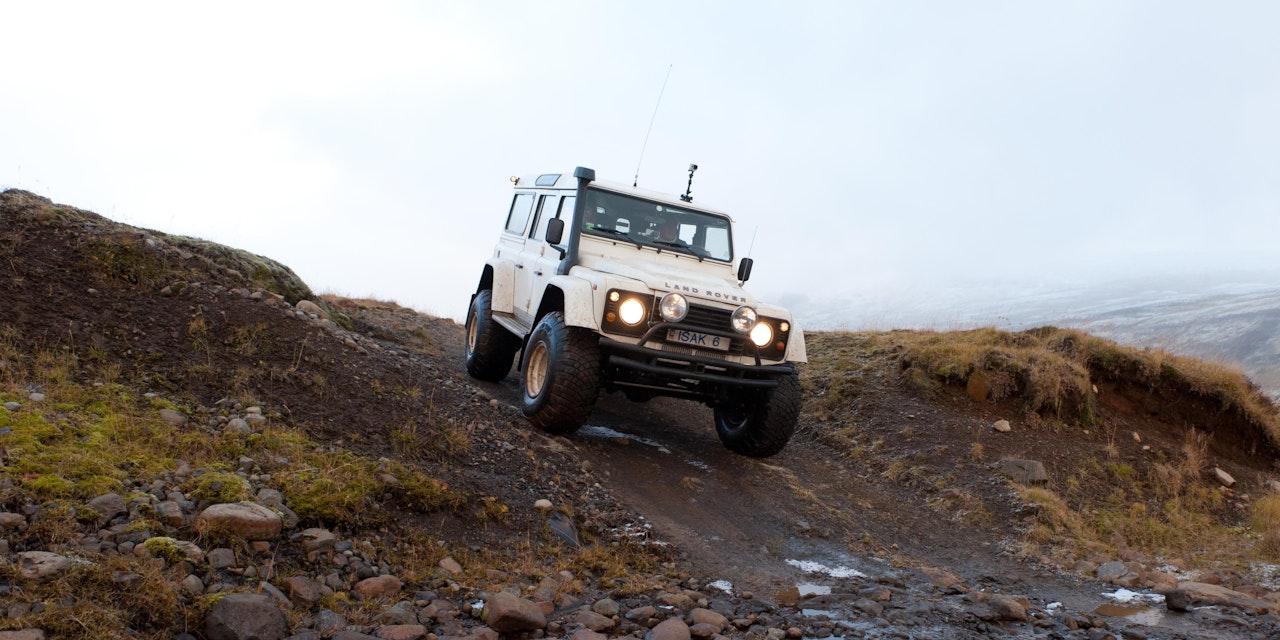 Super Jeep reis IJsland