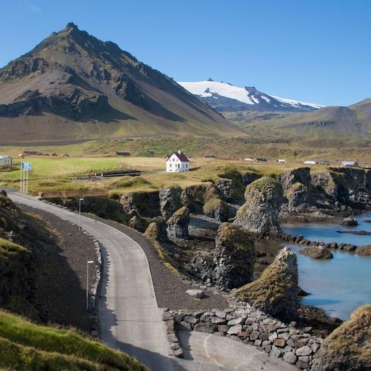 Haven bij Arnarstapi op Snæfellsnes