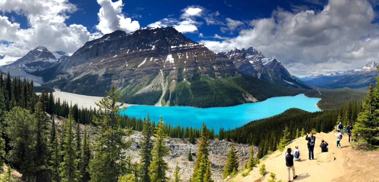 Peyto Lake, Banff Nationaal Park