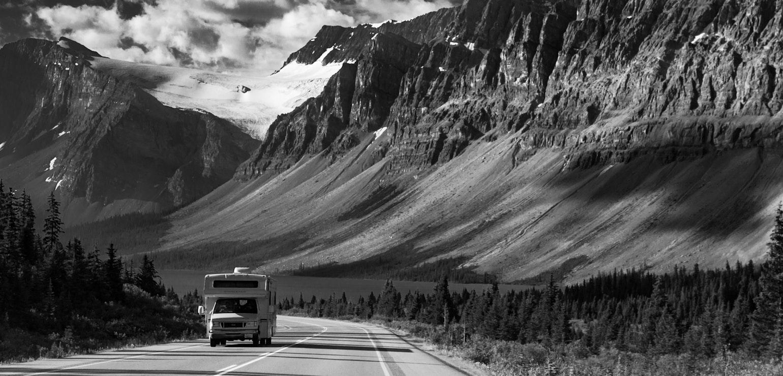 Camper Jasper Nationaal Park