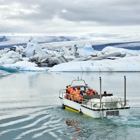 Jökulsárlón, ijsbergenmeer