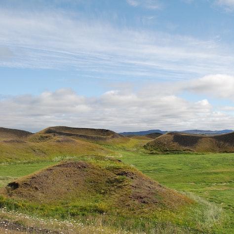 Pseudokraters, Mývatn