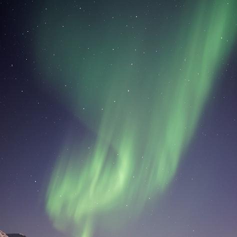 noorderlicht in noord-ijsland