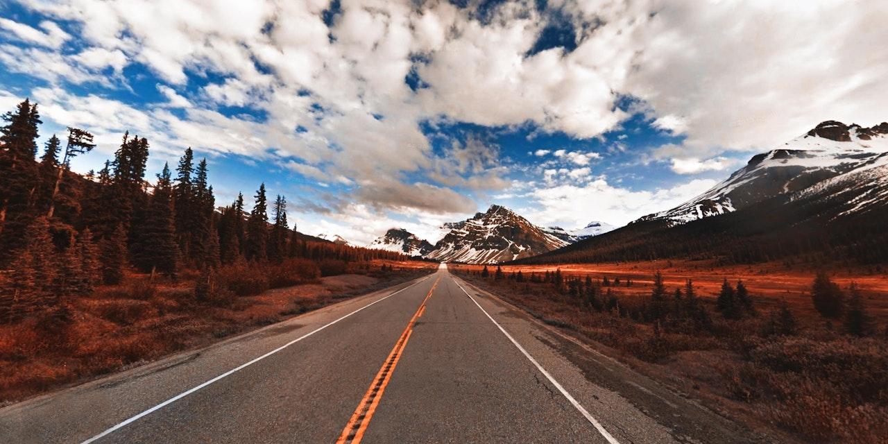 Highway Alberta, Canada