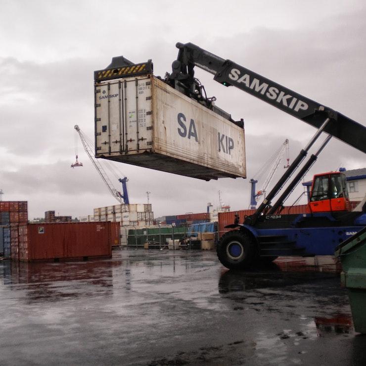 Container, foto: René Slagter
