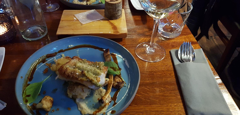 Diner bij Narfeyrarstofa Stykkishólmur