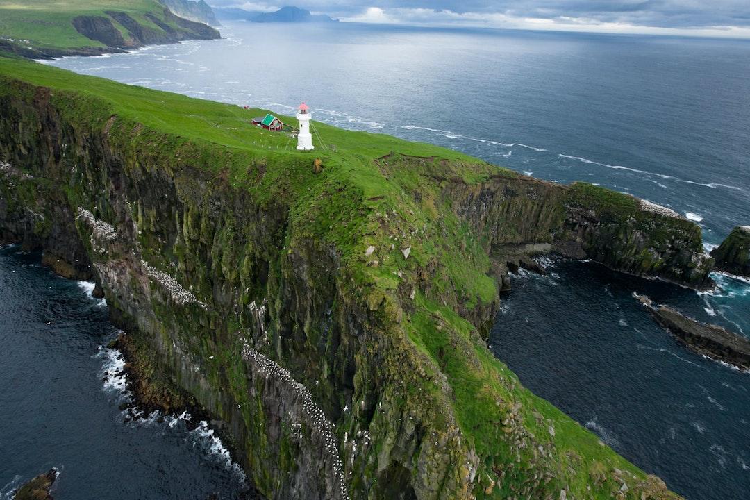Akraberg Lighthouse, Suðuroy, foto: Alessio Mesiano