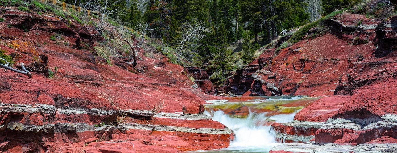 Red Rock Canyon, Waterton Lakes National Park, Canada