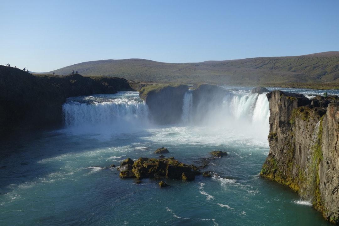 Goðafoss waterval