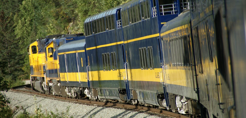 alaska rondreizen trein