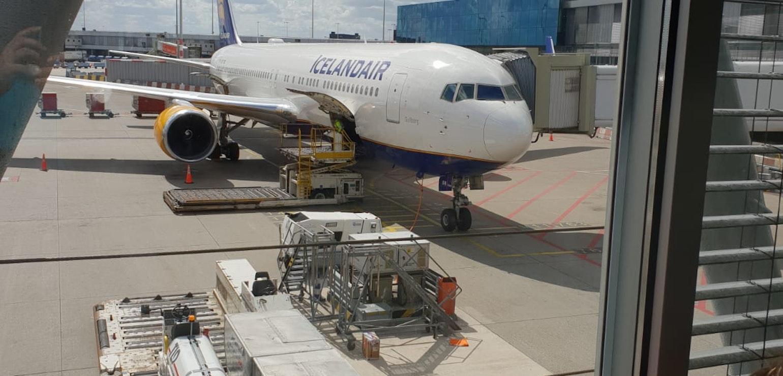 Vliegtuig Icelandair