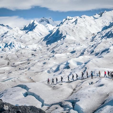 Perito Moreno Gletsjer, Argentinië, rondreis naar Patagonië