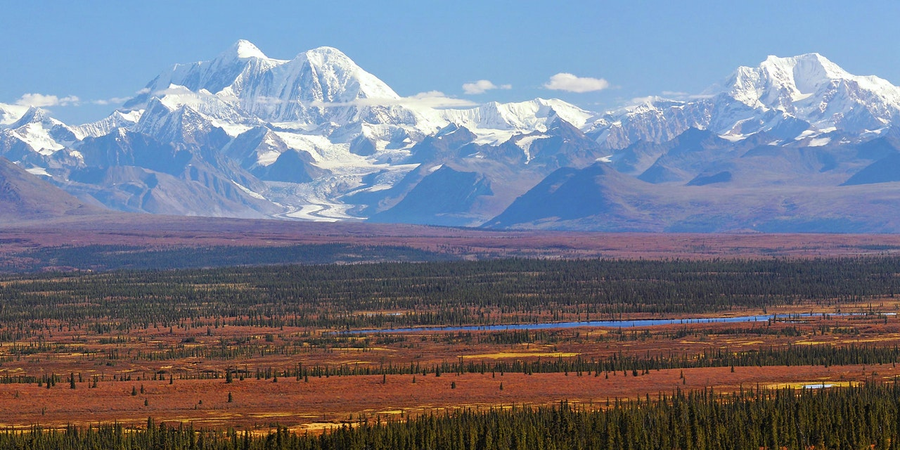 Alaskagebergte, Alaska