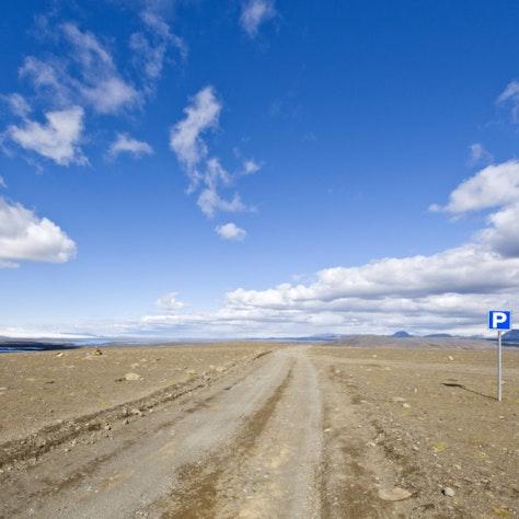 Sprengisandur route Super Jeep reis door IJsland