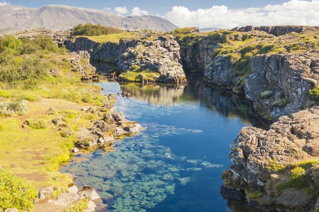 Sílfra kloof þingvellir Nationaal Park
