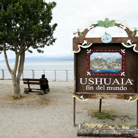 Ushuaia einde van de wereld