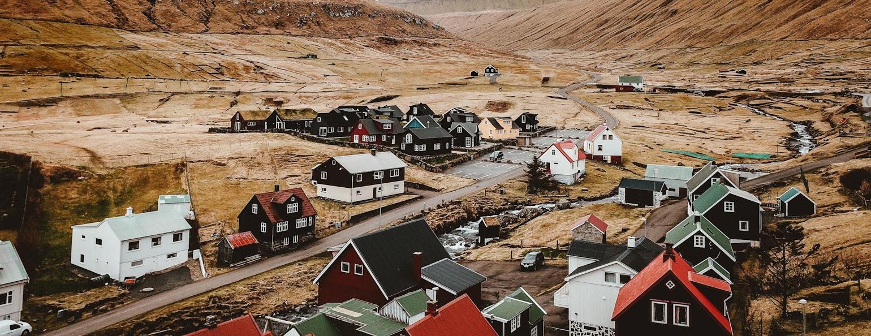 Gjógv, Faeröer