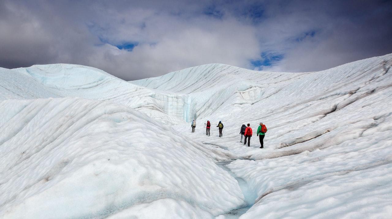 Gletsjerwandeling, Alaska