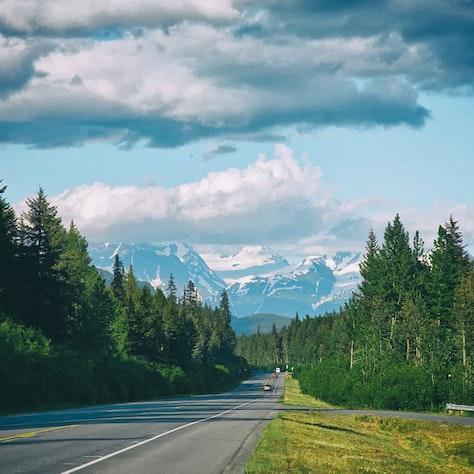 autorondreis door Alaska