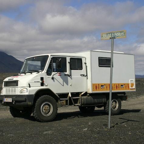 Bremach op IJsland