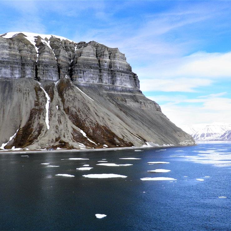 Fjord Spitsbergen - Marieke