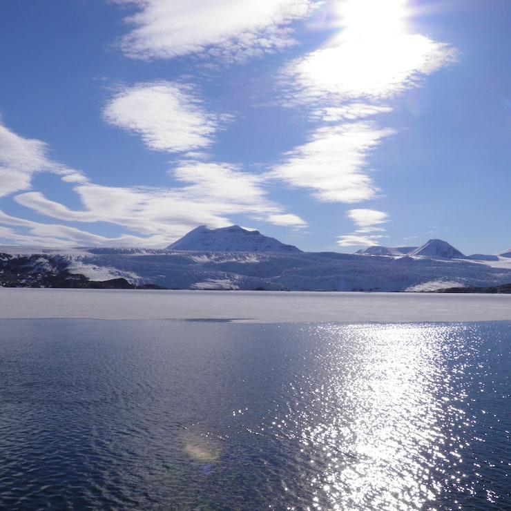 IJslandschap Spitsbergen