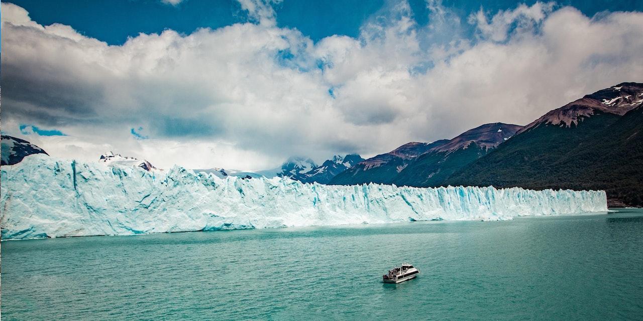 Perito Moreno gletsjer, Patagonië