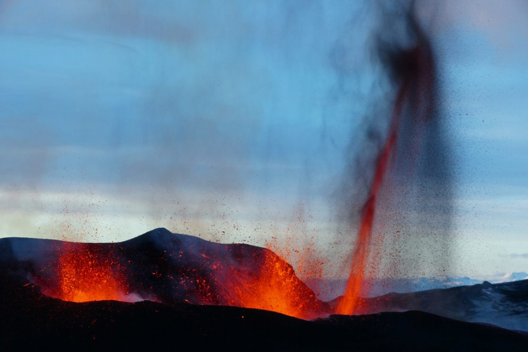 Eyjafjallajökull vulkaan uitbarsting