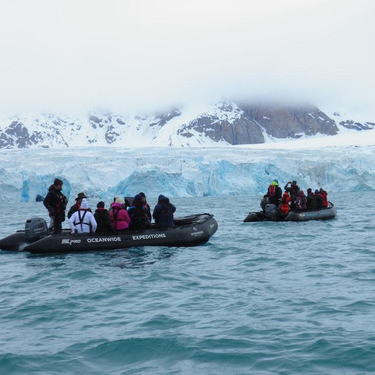 expeditiecruise naar Spitsbergen