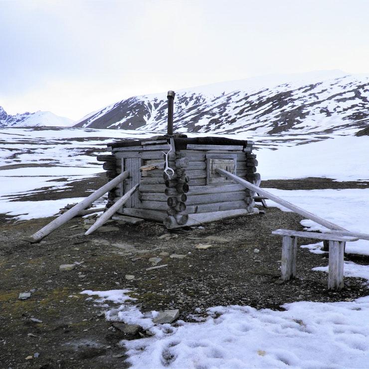 Overblijfsel hut