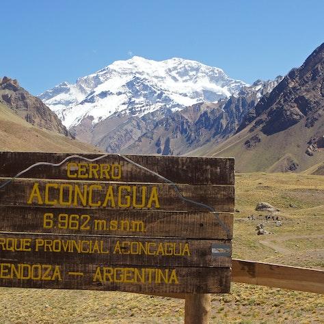 Aconcagua park, Mendoza, Rondreis door Argentinië