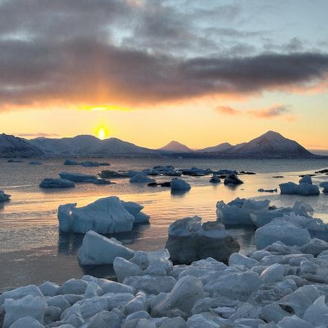 Landschap Spitsbergen