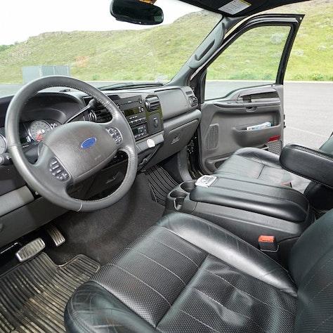 Luxury 4WD interieur