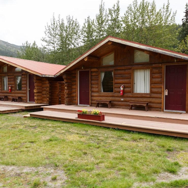 Lodges & Cabins, Alaska - foto Menno Schaefer