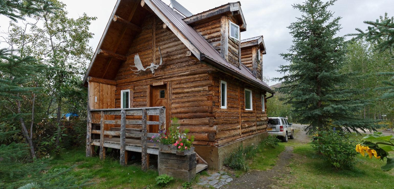 Cabin, Alaska - foto Menno Schaefer