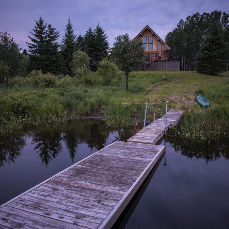 Chalet, Sainte-Anne-du-Lac, Canada