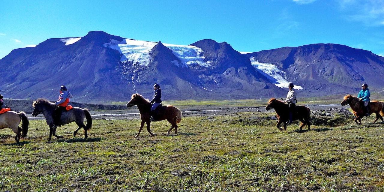 Kjölur paardrijdtocht