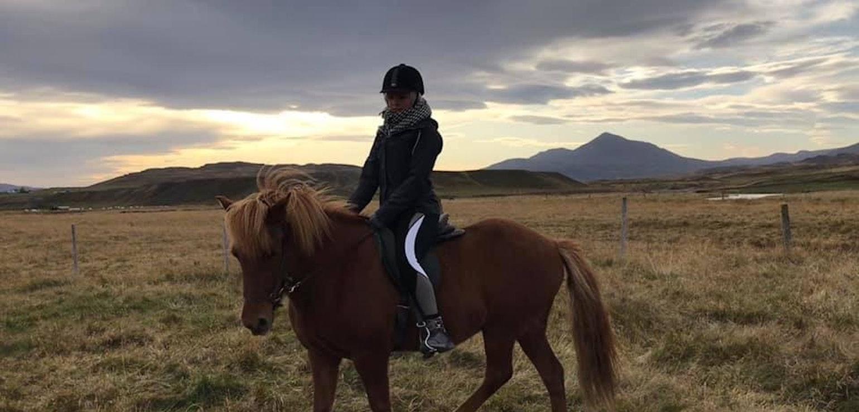 Paardrijden, Varmahlíð