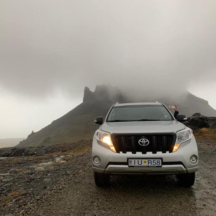 Opweg naar Snæfellsjökull