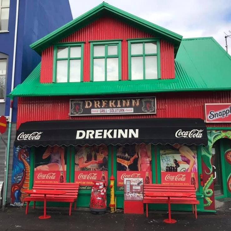 Coca Cola huis