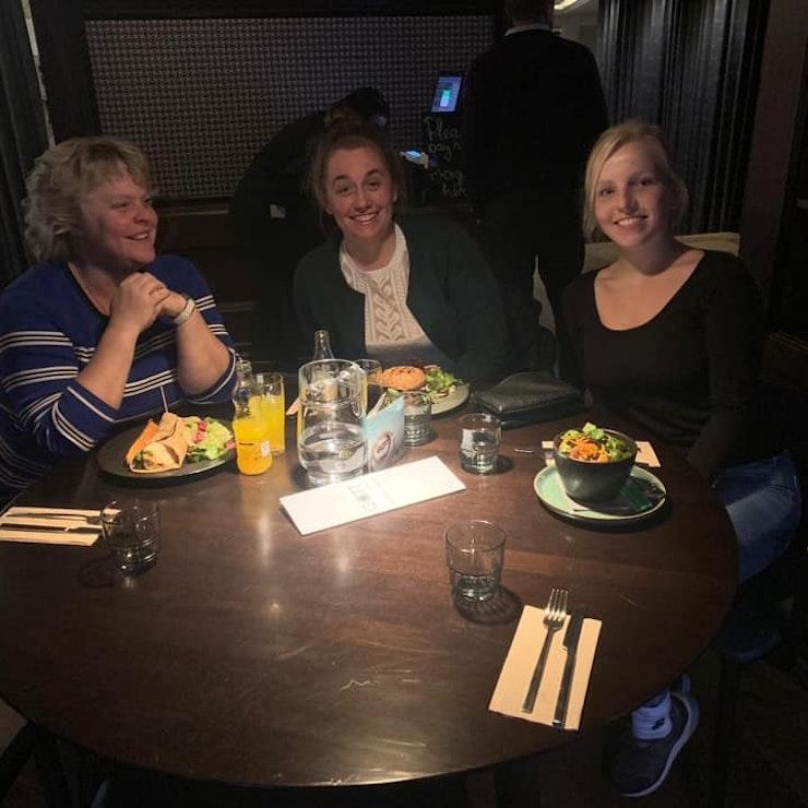 Laatste diner in restaurant, Reykjavík