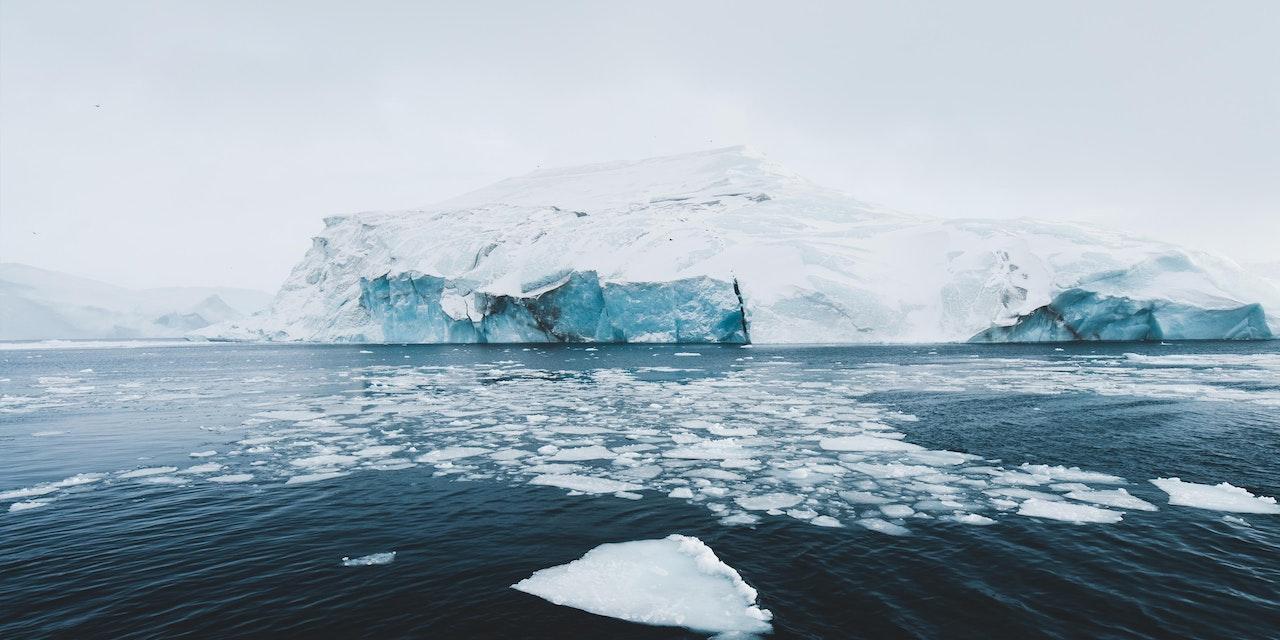 IJsberg in het Ilulissat IJsfjord, Groenland. Photo by Benjamin Hardman - Visit Greenland