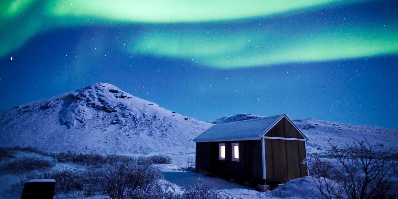Noorderlicht hut Kangerlussuaq, David Trood - Visit Greenland