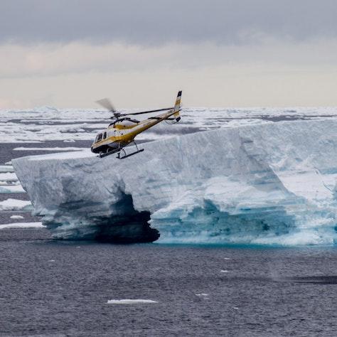 Helikoptervlucht Ross Zee