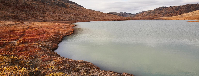 Kangerlussuaq smeltwater, Foto: Peter Lindstrom - Visit Greenland