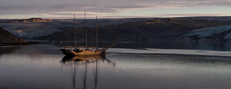 Schip in Groenland