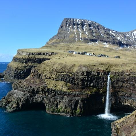 Gásadalur, Faeröer