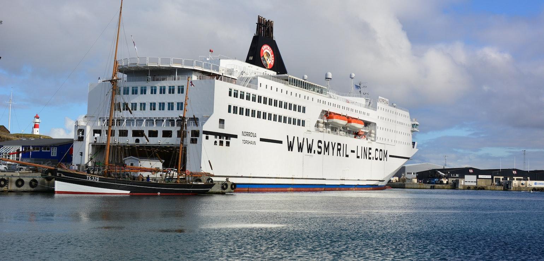 Veerboot in Tórshavn