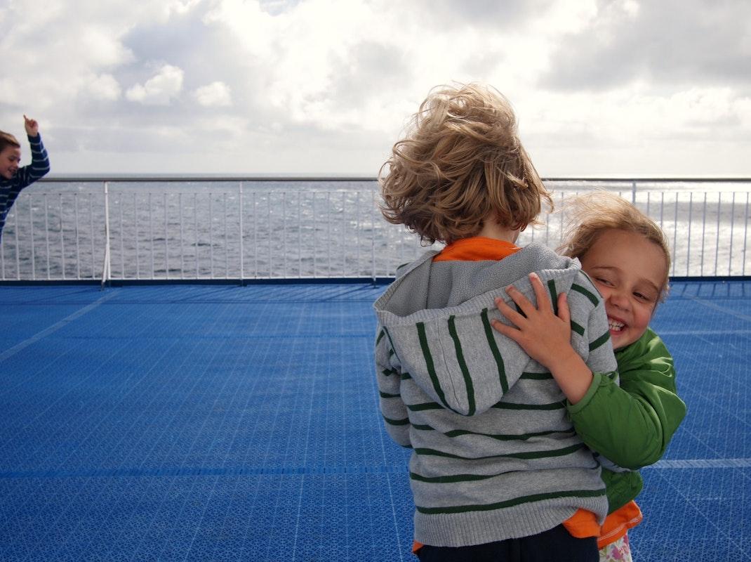 Aan boord van de Norröna